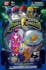 "Mighty Morphin Power Rangers Pink 4"" with Morpher 2010 New"
