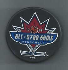 1998  NHL All-Star Game  Vancouver BC  Souvenir Hockey Puck