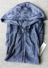 CALVIN KLEIN Performance Women vests singlet hood dark blue MEDIUM Brand New