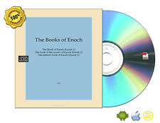 All Complete 1,2,3 The Book of Enoch,the secrets,The hebrew On Non Audio CD