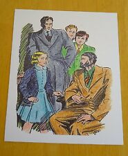 THE FAMOUS FIVE POSTCARD ~ FIVE TELL TALES TO UNCLE QUENTIN ~ ENID BLYTON ~ NEW