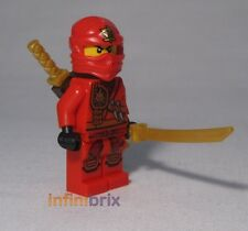 Lego Kai from set 70745 Anacondrai Crusher Red Ninja Ninjago BRAND NEW njo121
