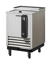 """24"""" BOTTLE COOLER STAINLESS EXTERIOR WITH 1 SLIDING DOOR TBC-24SD"""