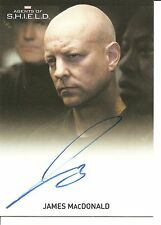 Agents of Shield James MacDonald (Agent Jacobson) Autograph Trading Card