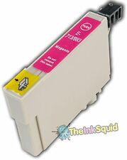 Magenta/Red T0713 Cheetah Ink Cartridge non-oem fits Epson Stylus SX215 SX218
