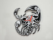 Scorpion Silhouette - Wall Clock