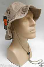 Boonie Bucket Hat L/XL Fishing CapTan Khaki Cotton Large/X-Large Newhattan