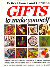 Better Homes and Gardens ~ Gifts to make yourself ~ Sew Paste Knit Bake ~ Paint