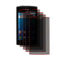 FOUR Clear LCD Screen Protector Samsung Captivate i897