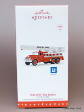 NEW 2016 1959 GMC Fire Truck Brigade #14 HALLMARK KEEPSAKE ORNAMENT 2017