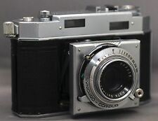 AGFA Karat 36 35mm GERMAN Vintage Film Camera COMPUR SOLINAR f/2.8 50mm Lens