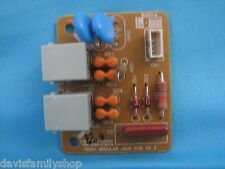 Dell Laser MFP 1600N Printer Modular Jack PCB V0.3 Board