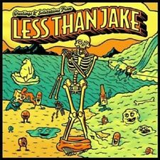 LESS THAN JAKE - GREETINGS AND SALUTATIONS  VINYL LP  12 TRACKS PUNK ROCK  NEU