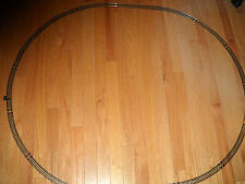 MODEL POWER HO SCALE STARTER SET OF OVAL TRAIN TRACK ABOUT 42 X 36 INCHES (NEW)