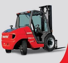Manitou  MSI 20 - 30 & MH 20 - 25 Forklift  Workshop & Parts Manuals