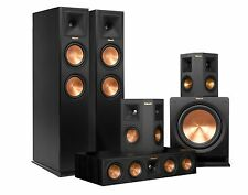 HOME THEATER SYSTEM SPEAKERS KLIPSCH 5.1 RP-260F +  RP-440C + RP-250S + R-112SW