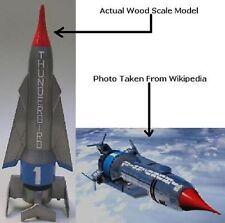 Thunderbird 1Hypersonic Rocket Plane Wood Model Regular