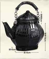 2017 New Fashion Amliya Chinese Unique Teapot tea Kettle Shape Handbag/Purse Bag