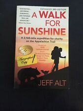SIGNED A Walk for Sunshine : A 2,160 Mile Expedition for Charity Hologram COA