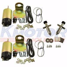 New 35lb solenoid shaved door kit With Door popper Kit hot rod rat rod complete