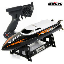UDI001 2.4GHz High Speed Remote Control Engine Toy Electric Racing RC Boat Black