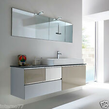 JACANA JA5 – Mobile luxury arredo bagno L.142 cm personalizzabile COMPAB