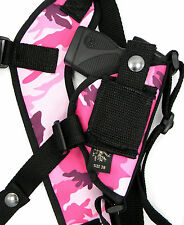 USA MADE PINK CAMO CAMOUFLAGE RIGHT HAND SHOULDER HOLSTER KEL-TEC P3AT 380, P32