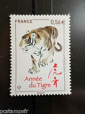 FRANCE 2010, TP 4433 NOUVEL AN CHINOIS, ANNEE du TIGRE, CHINA TIGER, MNH STAMP