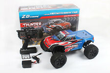 ZD Racing Thunder ZMT-10 9106 1/10 Scale 4WD Brushless Electric Monster Truck (R