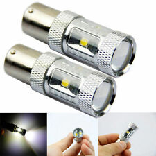 2PC 30W CREE White Error Free 1156 BA15S P21W 6 Led Backup Reverse Light Canbus
