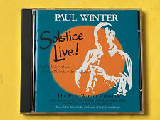 Solstice Live! by Paul Winter, new age CD 1998(?), Living Music, St. John Divine