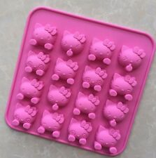 Hello Kitty Silicone Fondant Mould Chocolate Sugarcraft Ice Mold Baking Tool DIY