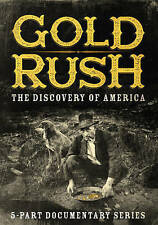 Gold Rush: The Discovery of America (DVD, 2016)Sealed,Educational,History,5 Part