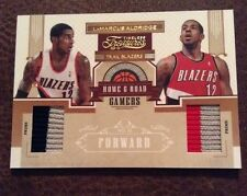 LaMarcus Aldridge 2010 Timeless Treasures Home Road Jersey Patch 3/10 Ssp