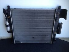 2002 Mercedes Benz ML320 Radiator AC Condenser Assembly Used
