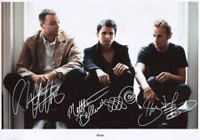 MUSE AUTOGRAPHED SIGNED A4 PP POSTER PHOTO