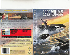 Free Willy 2:The Adventure Home-1995-Jason James Richter-Movie-DVD