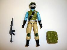 GI JOE STEEL BRIGADE Vintage Action Figure 99% COMPLETE C9 v1-D 1987