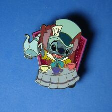 Stitch Dressed as Mad Hatter UK Disney Store Pin LE 750 RARE