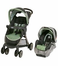Graco FASTACTION FOLD CLASSIC CONNECT TRAVEL SYSTEM Sonoma Collection