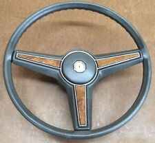 1978-83 PONTIAC LEMANS BONNEVILLE GRAND PRIX STEERING WHEEL BLUE OEM