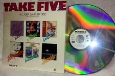 Take Five II AV Laser Sampler Disc Sony Bruce Springsteen Rocky & Bullwinkle '92