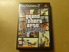 PS2 GAME / GRAND THEFT AUTO: SAN ANDREAS (GTA) (PLAYSTATION 2)