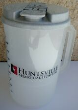 Plastic Insulated Huntsville Memorial Clear Thermo 30oz Mug & Lid with Straw