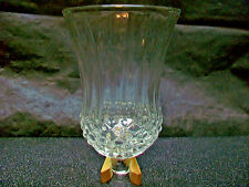 CLEAR GLASS SHADE LAMP WALL SCONCE VOTIVE TEA CANDLE HOLDER LIGHTING REPLACEMENT