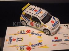DECAL CALCA 1/43 SUZUKI IGNIS S. CAÑELLAS RALLY CATALUNYA 2003