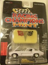 Racing Champions Mint 1963 Chevy Corvette Issue #41 with Emblem & Stand 63