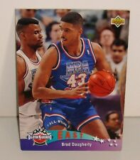 CARTE DE COLLECTION BASKET BALL EAST ALL STARS BARD DAUGHERTY