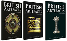 British Artefacts Vols 1,2 and 3  *FREE UK P&P*
