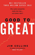 GOOD TO GREAT Jim Collins Build Business Book (Hardback, 2001)